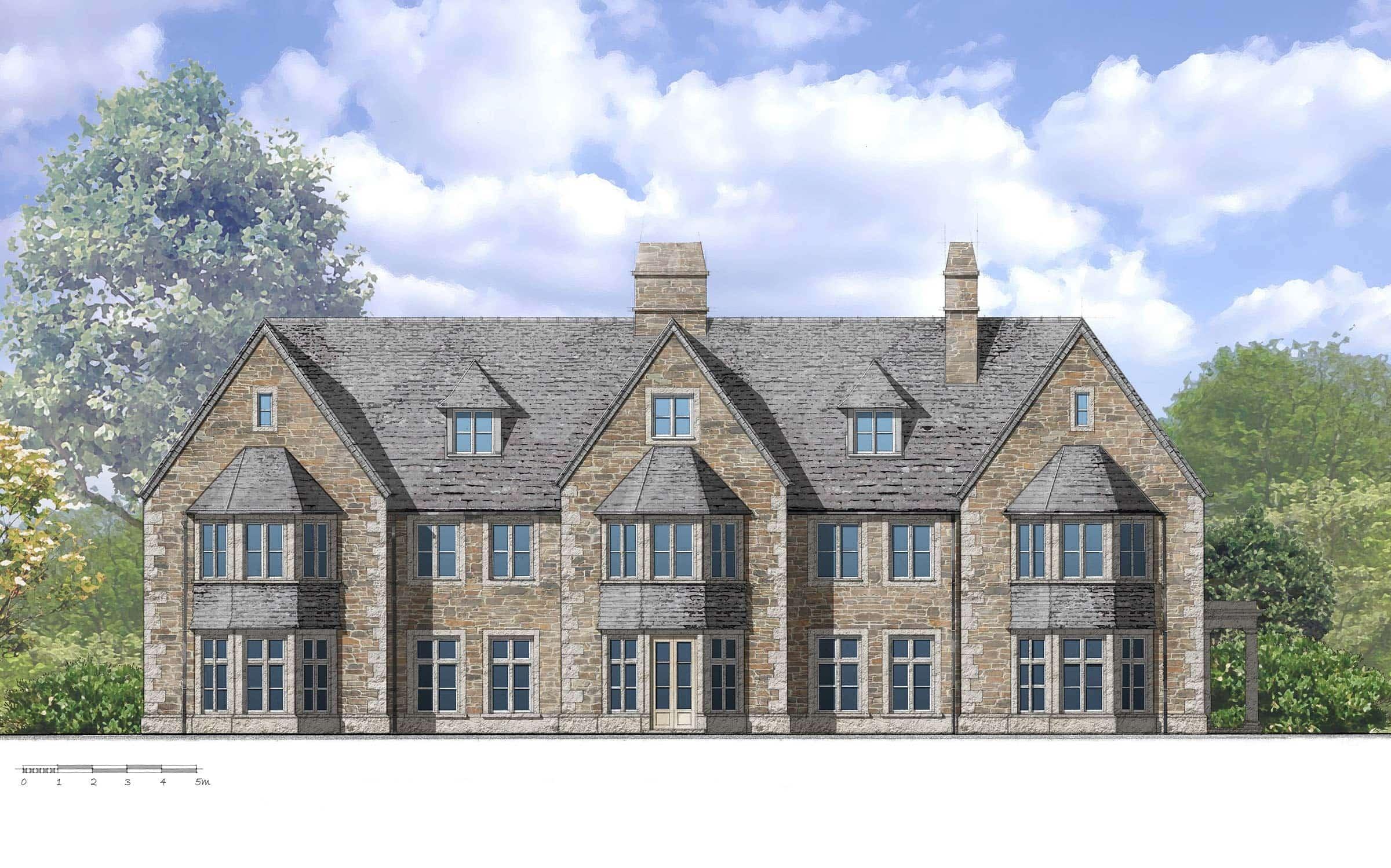 New sustainable Cornish manor house