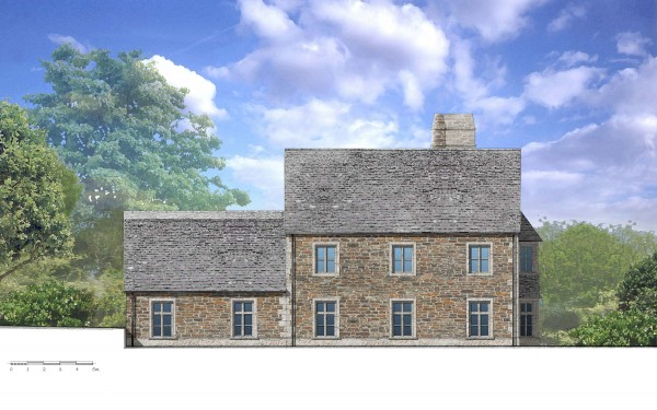 New sustainable Cornish manor house