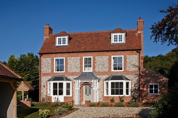 New traditional cottage, Hampshire