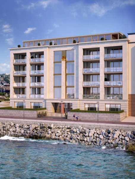Waterfront apartment building, St Helier, Jersey