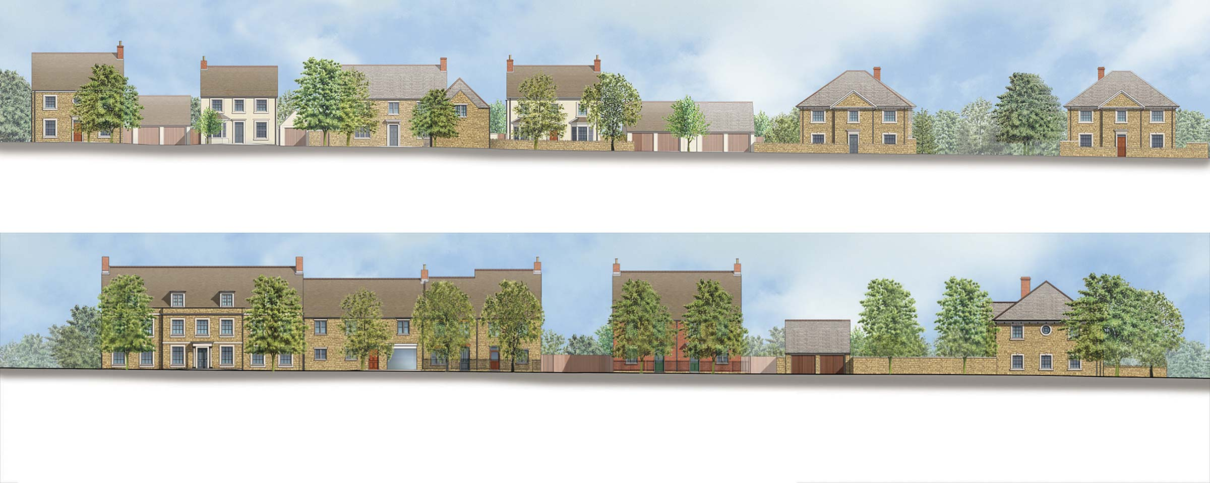 Urban extension to Woodstock, West Oxfordshire