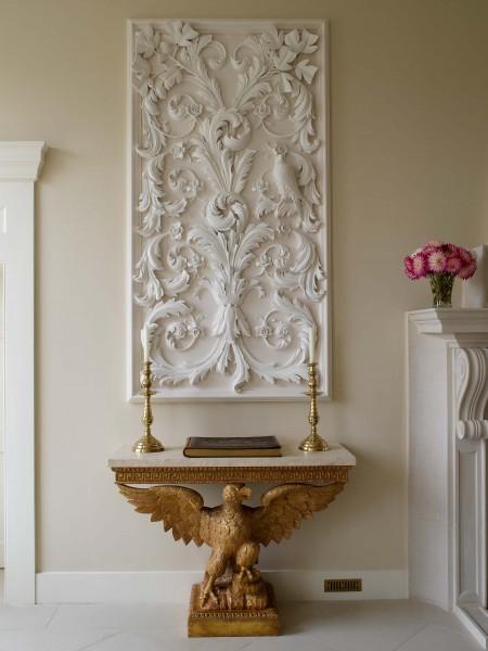 New Palladian villa interior, Wiltshire