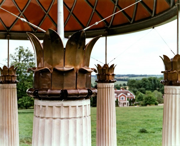 Classical garden pavilion in Hampshire