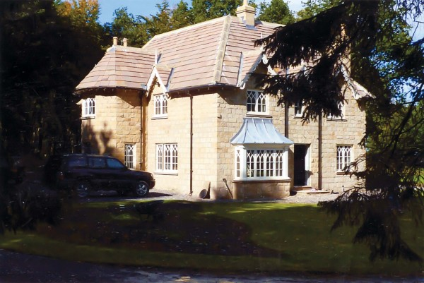 Cottage Orné alteration & extension, Yorkshire
