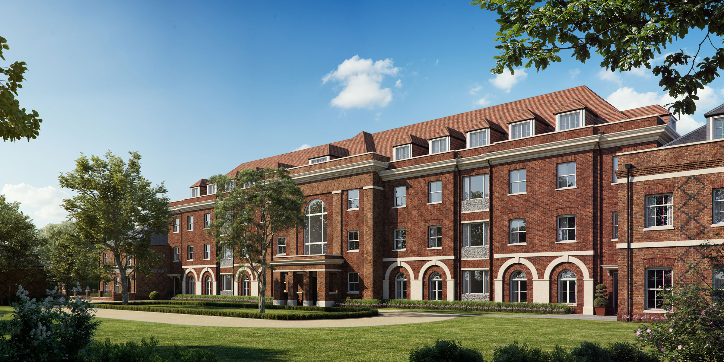 Competition design for a new boarding house at Eton College, Berkshire
