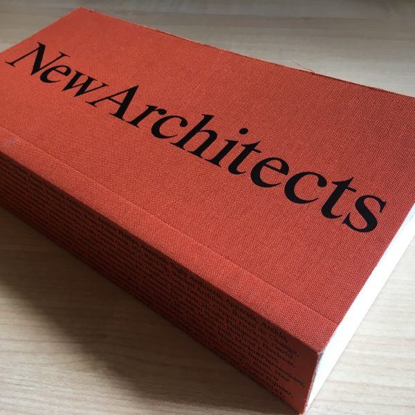 Robbie Kerr included in New Architects 4 book