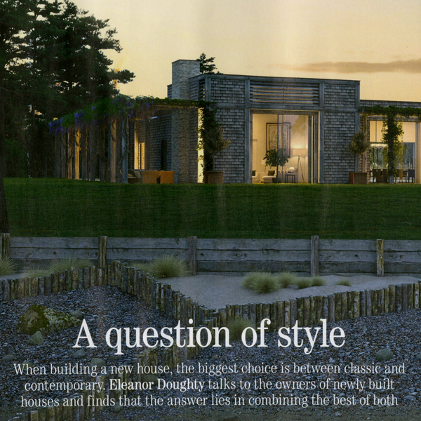 A question of style – by Eleanor Doughty for Country Life