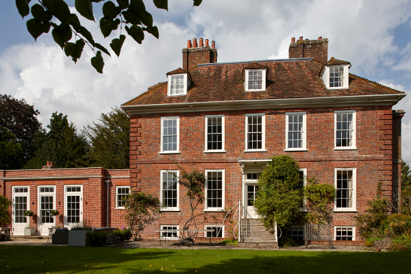 Refurbishment and Extension to a Grade II* Listed Rectory, in Hampshire