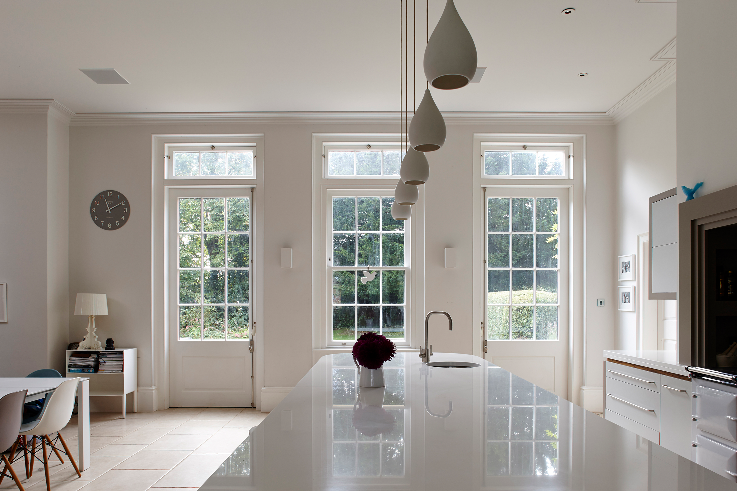 Interior Refurbishment and Extension to a Grade II* Listed Rectory, in Hampshire
