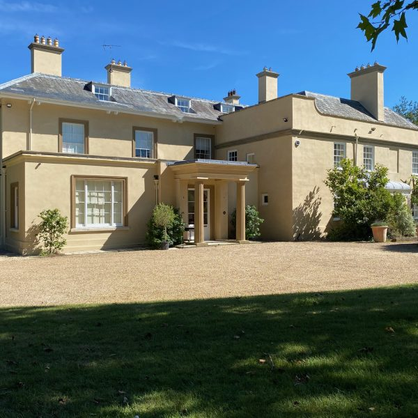 A Georgian House in Hampshire, Newly Renovated by ADAM Architecture, Featured in House & Garden